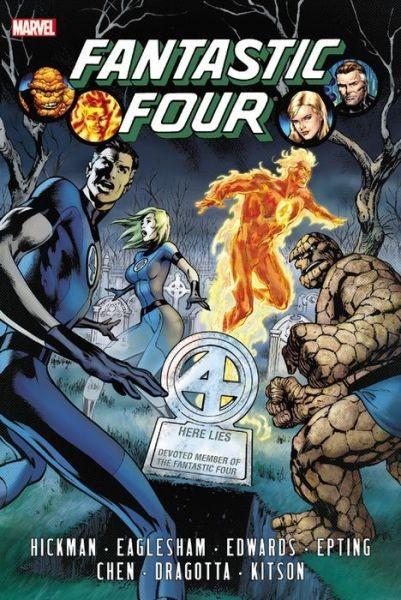 Fantastic Four By Hickman Omnibus Vol. 1 HC