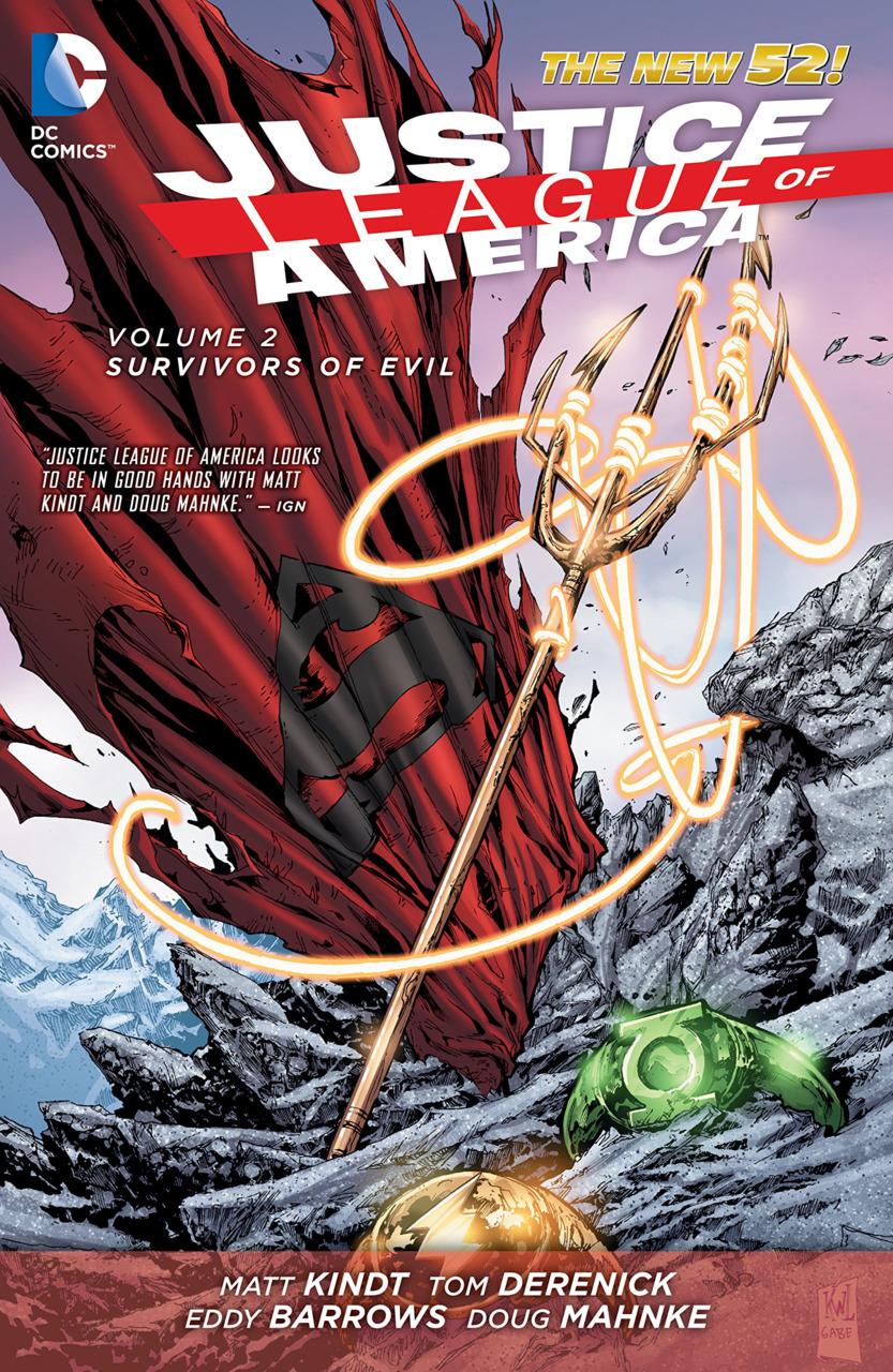 Justice League of America Vol. 2: Survivors of Evil HC