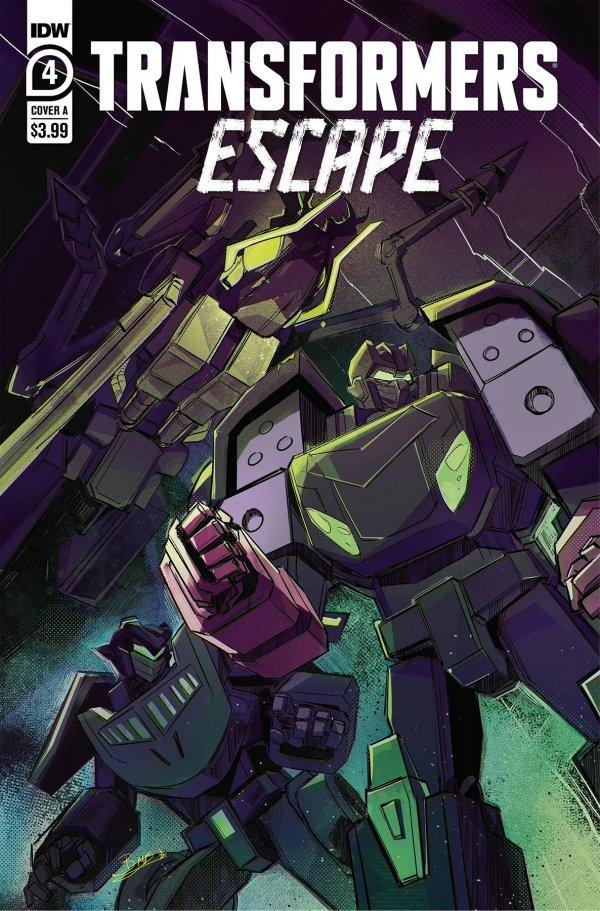 Transformers: Escape #4