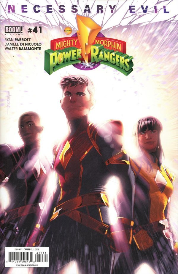 Mighty Morphin Power Rangers #41
