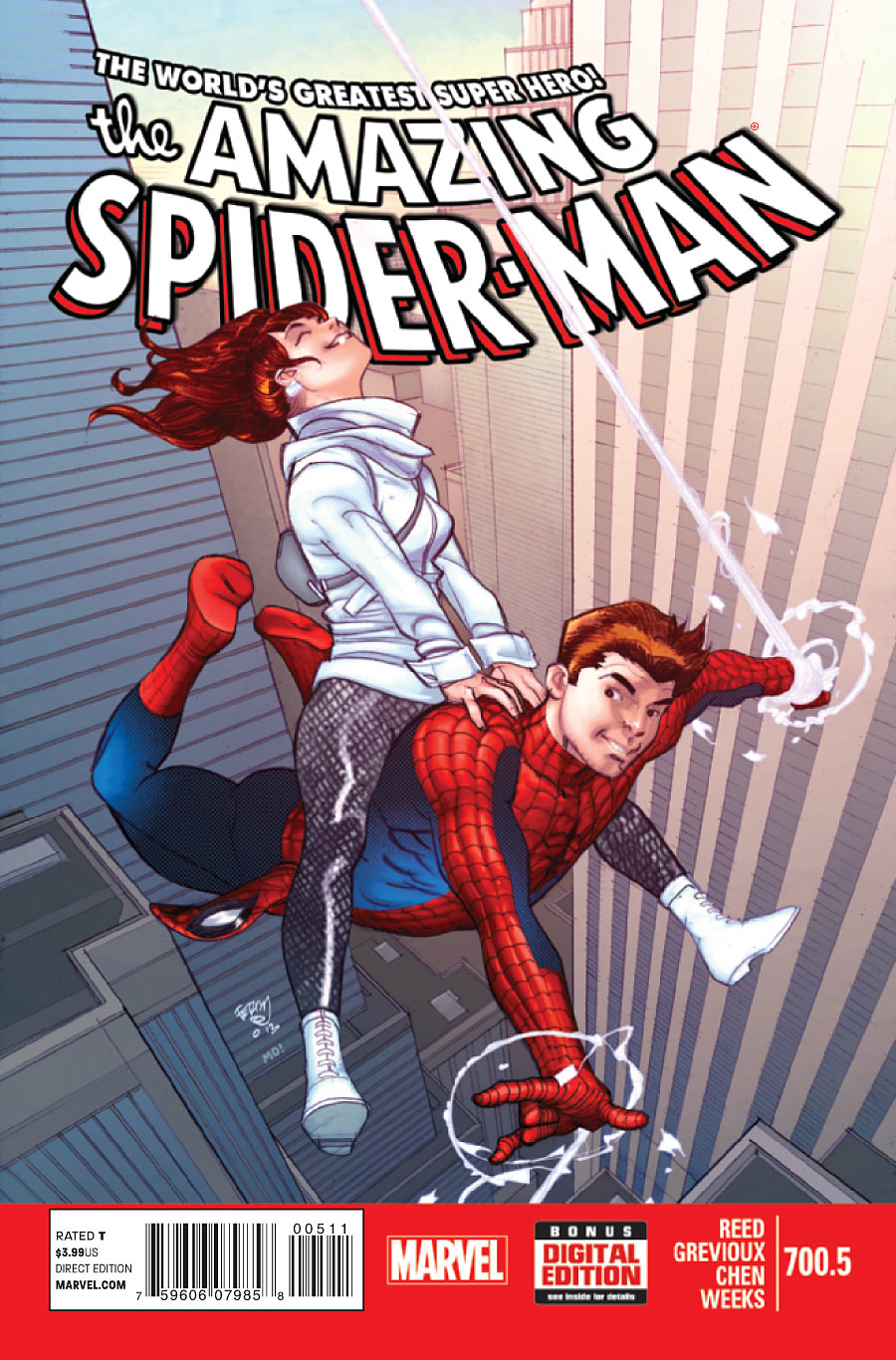 The Amazing Spider-Man #700.5