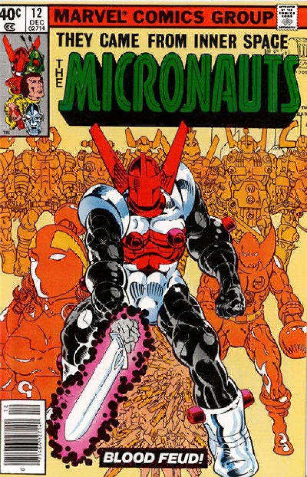 Micronauts #12