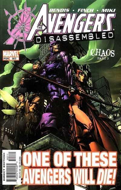 The Avengers #502