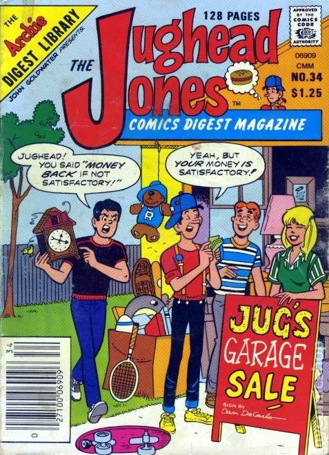 The Jughead Jones Comics Digest Magazine #34