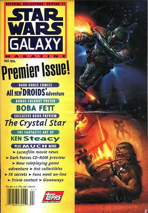 Star Wars Galaxy Magazine #1