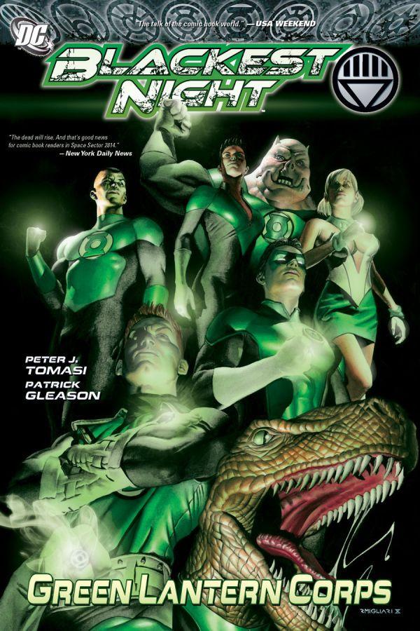 Blackest Night: Green Lantern Corps HC