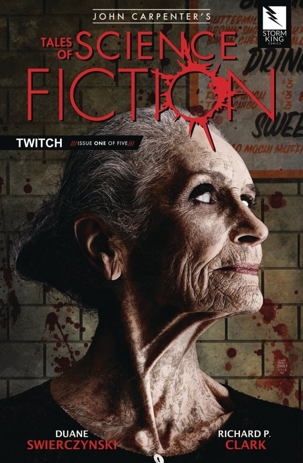 John Carpenter's Tales of Science Fiction: Twitch #1 review