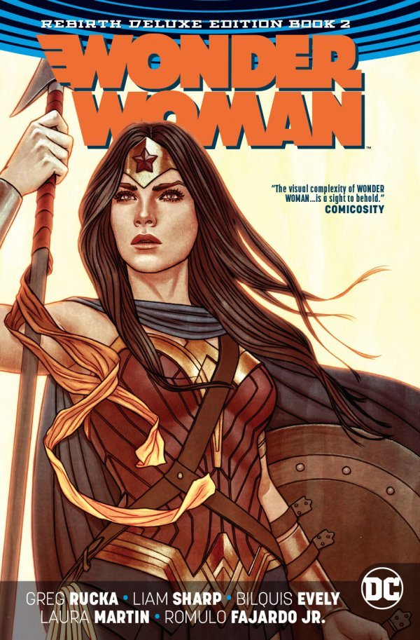 Wonder Woman: The Rebirth Deluxe Edition Book 2 HC