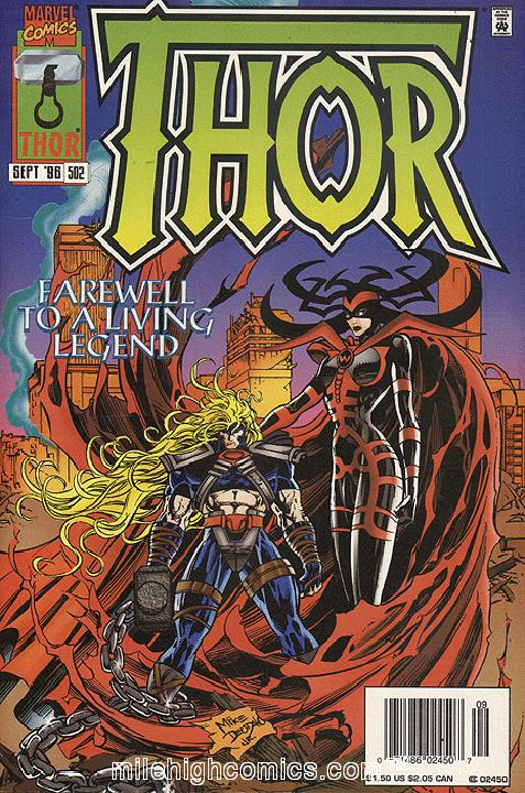 The Mighty Thor #502