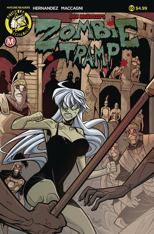 Zombie Tramp #65 review