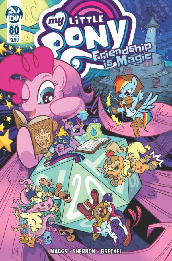 My Little Pony: Friendship Is Magic #80 Cover B Richard