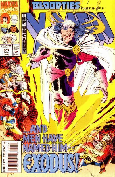 Uncanny X-Men #307