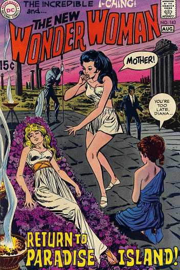 Wonder Woman #183