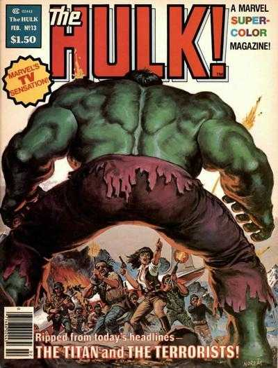 The Rampaging Hulk #13