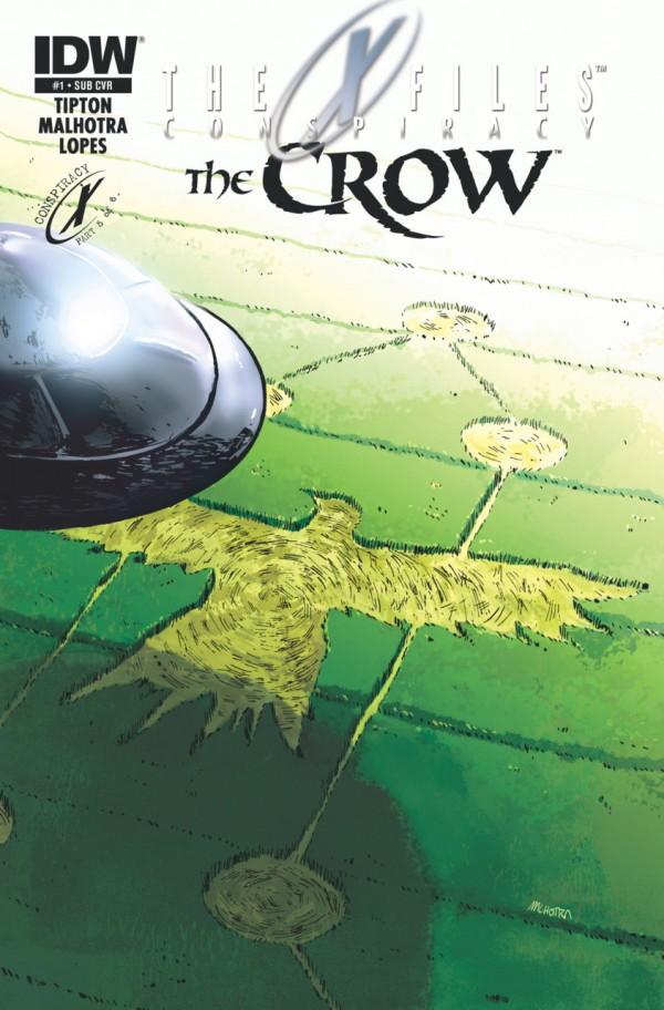 The X-Files: Conspiracy - The Crow #1