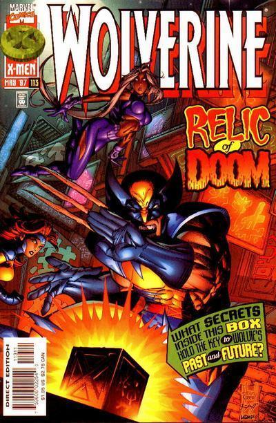 Wolverine #113