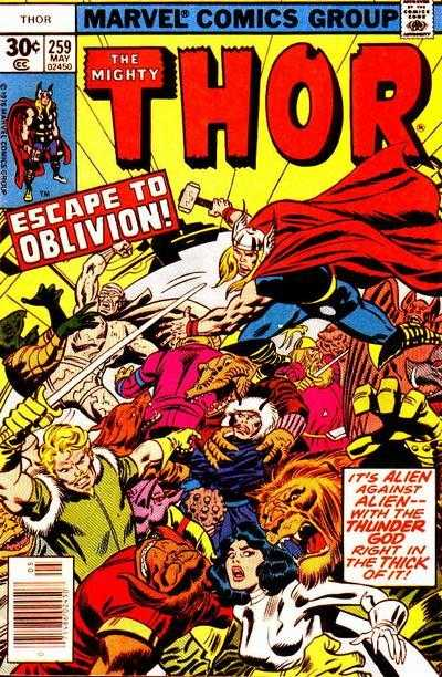 The Mighty Thor #259