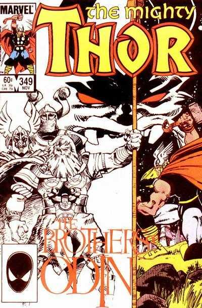 The Mighty Thor #349
