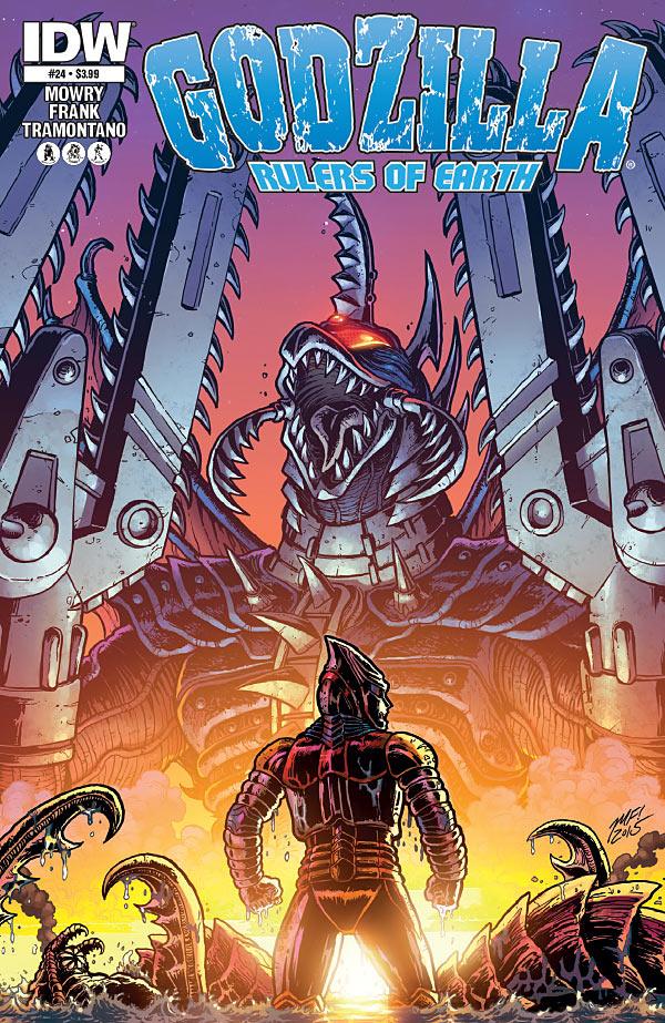 Godzilla: Rulers of Earth #24