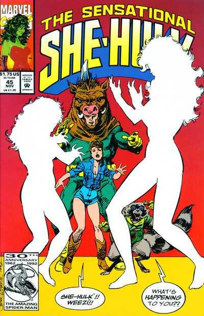 The Sensational She-Hulk #45