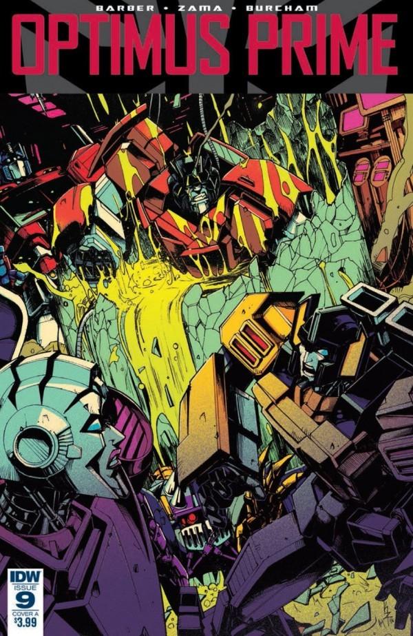 Optimus Prime #9