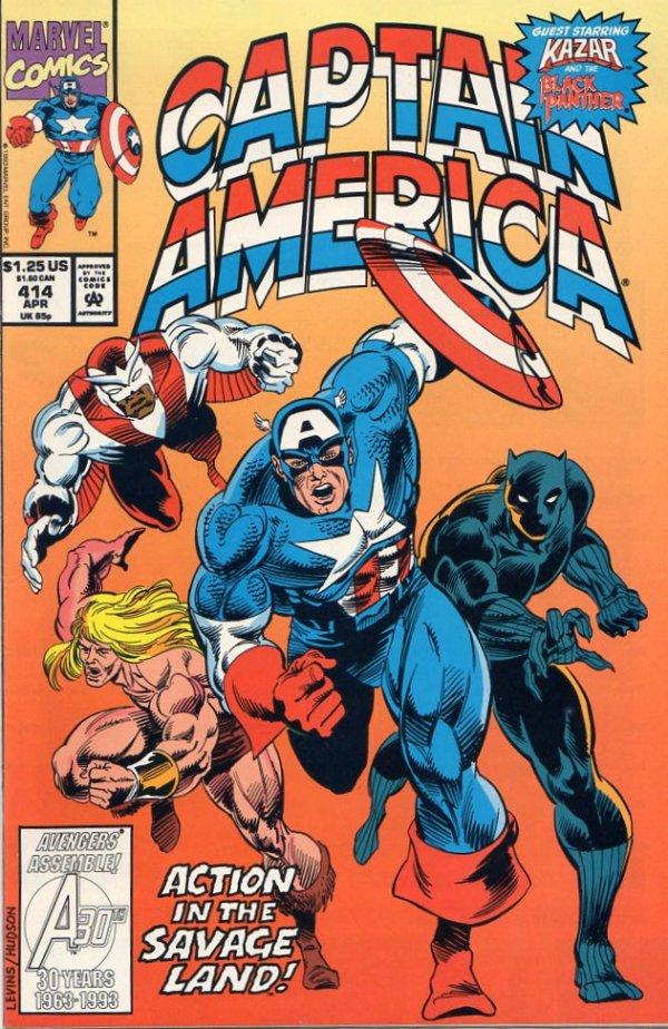Captain America #414