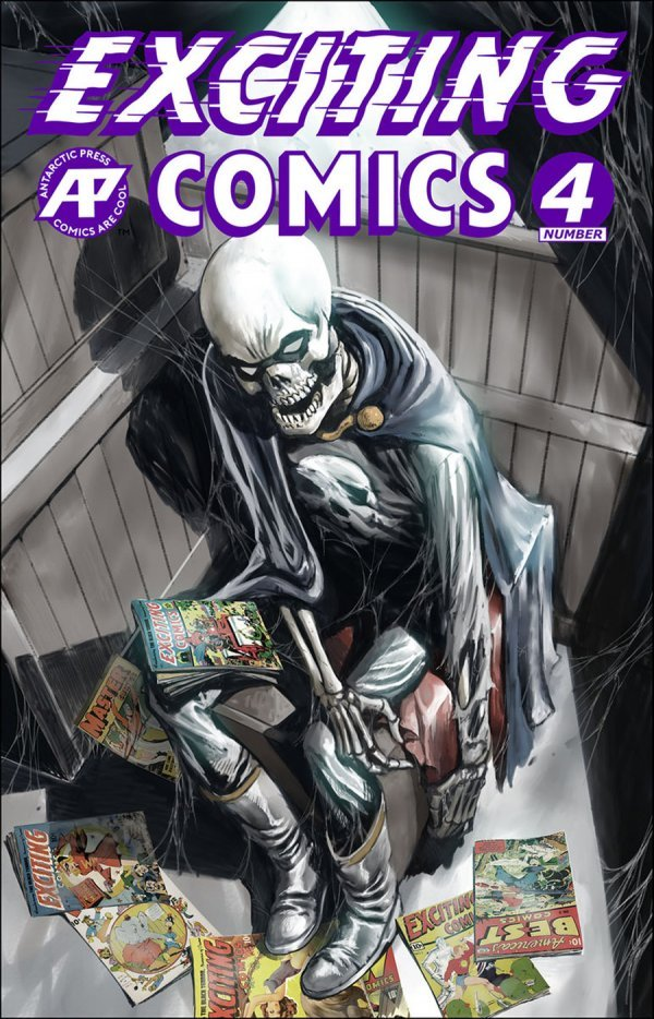 Exciting Comics #4 review
