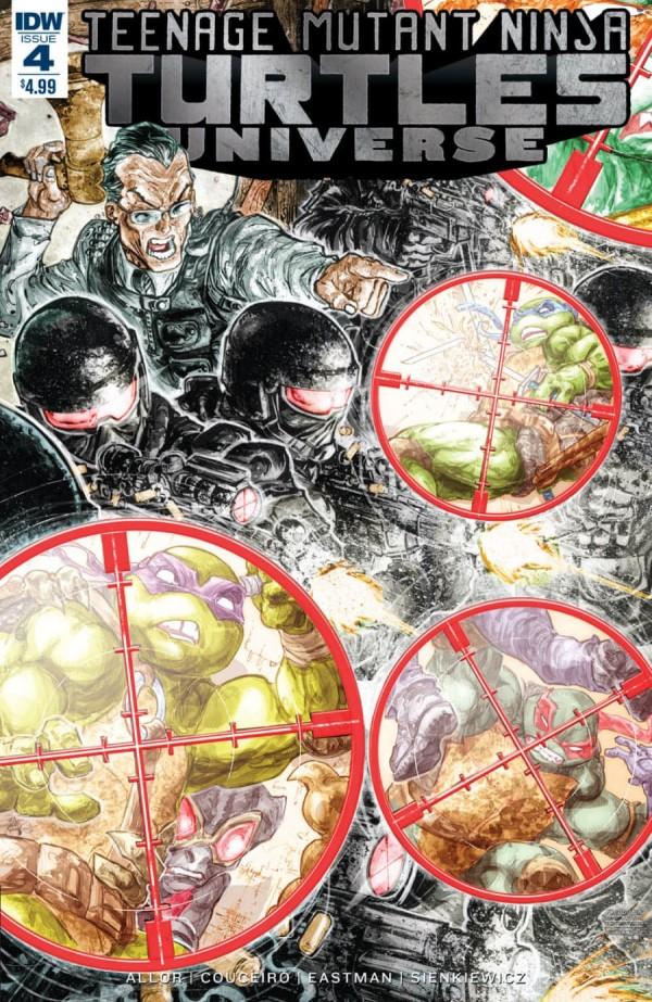Teenage Mutant Ninja Turtles: Universe #4