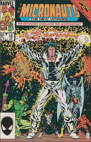 Micronauts: The New Voyages #16