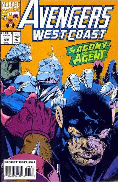 Avengers West Coast #98