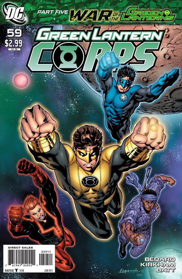 Green Lantern Corps #59