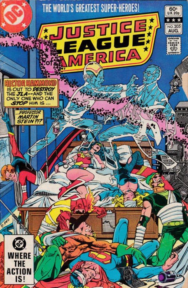 Justice League of America #205