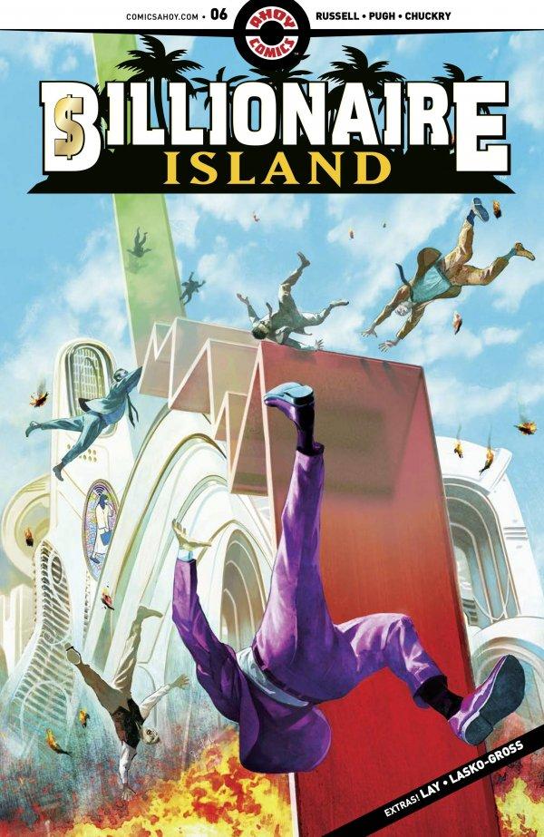 Billionaire Island #6 review