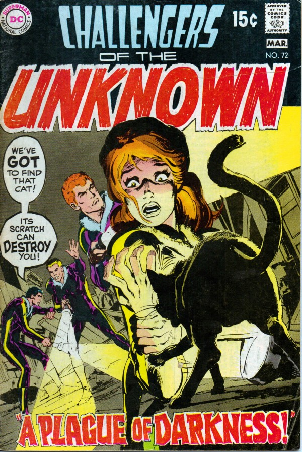 Challengers of the Unknown #72