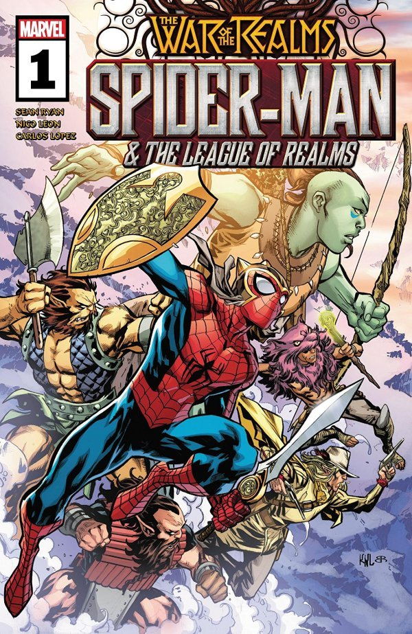 War of the Realms: Spider-Man and the League of Realms #1