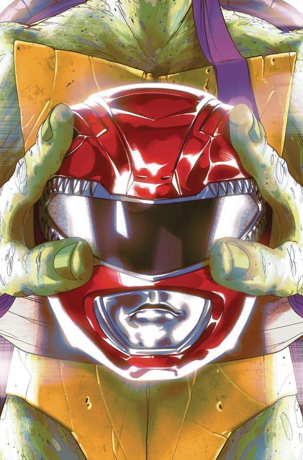Mighty Morphin Power Rangers / Teenage Mutant Ninja Turtles #1