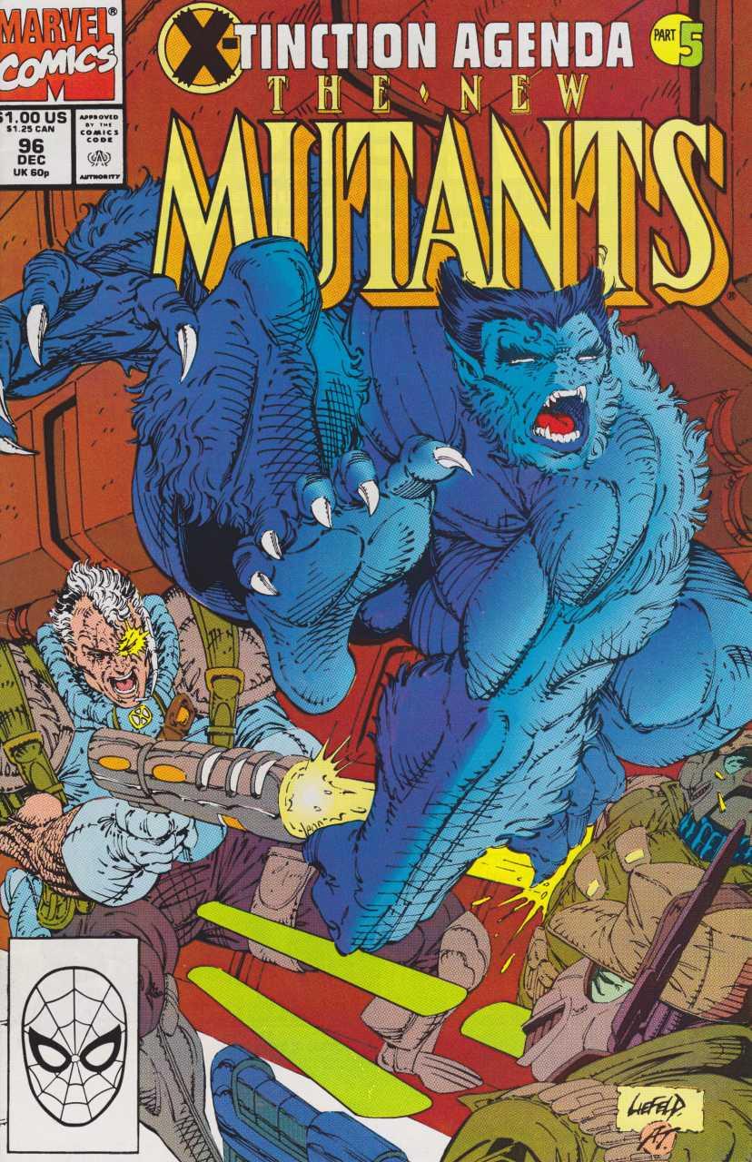 The New Mutants #96