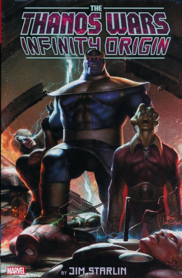 Thanos Wars Infinity Origin Omnibus Lee Var HC