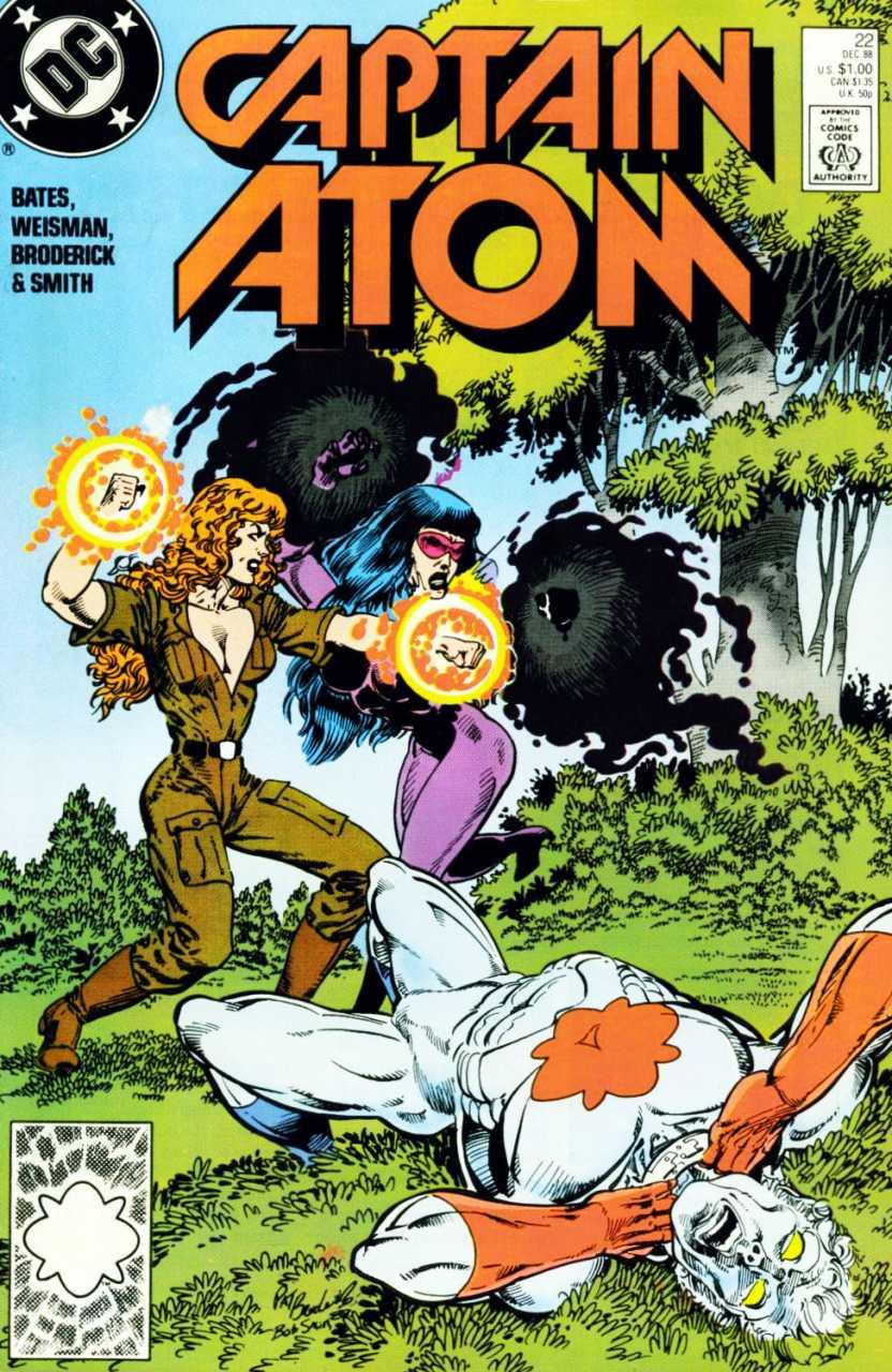Captain Atom #22