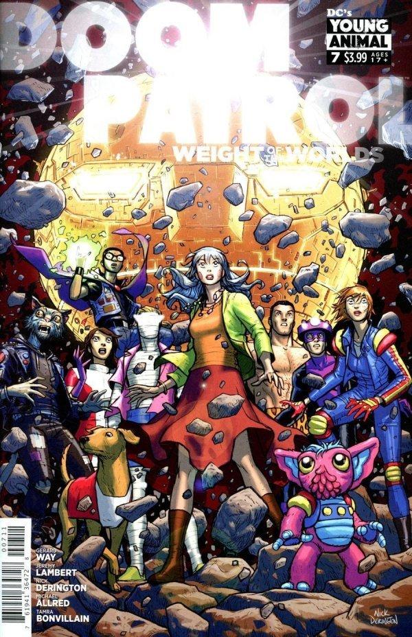 Doom Patrol: Weight of the Worlds #7