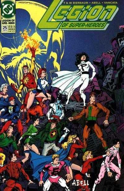 Legion of Super-Heroes #25
