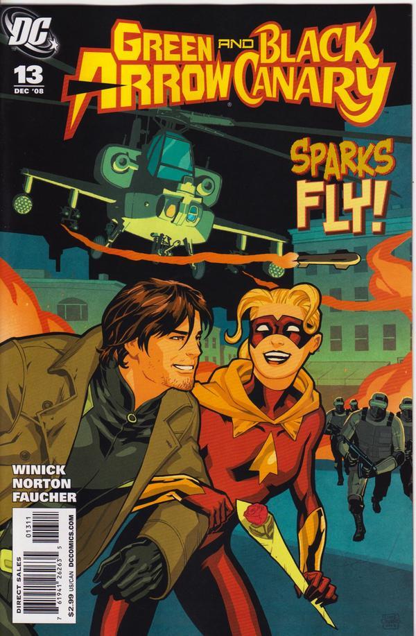Green Arrow / Black Canary #13