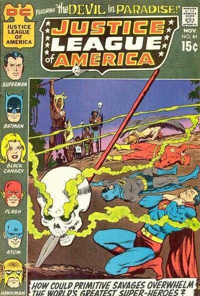 Justice League of America #84