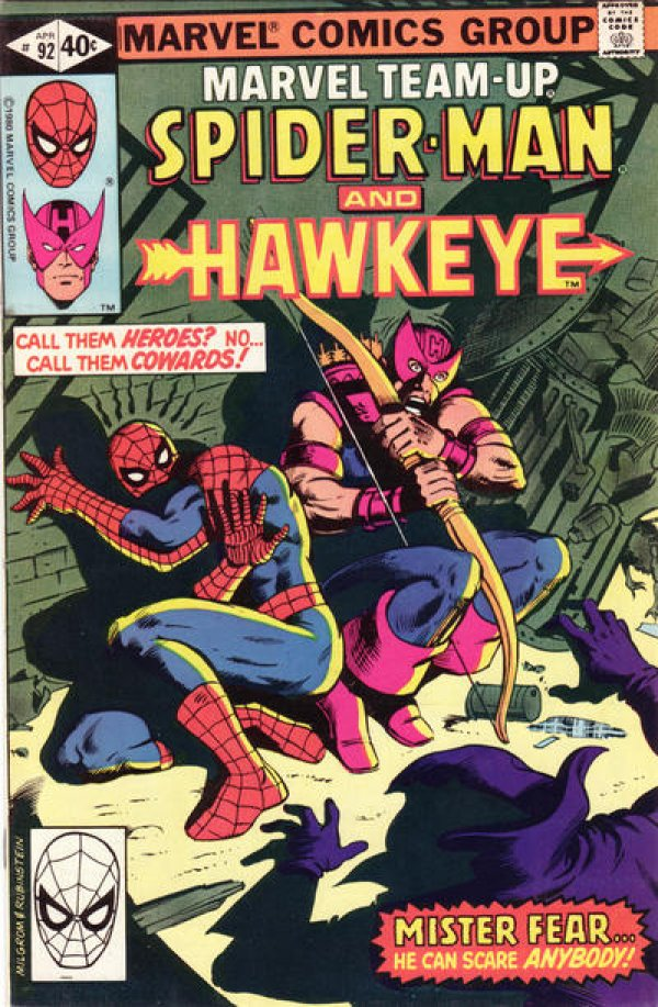 Marvel Team-Up #92