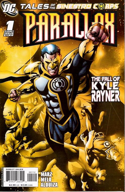 Tales of the Sinestro Corps Presents: Parallax #1
