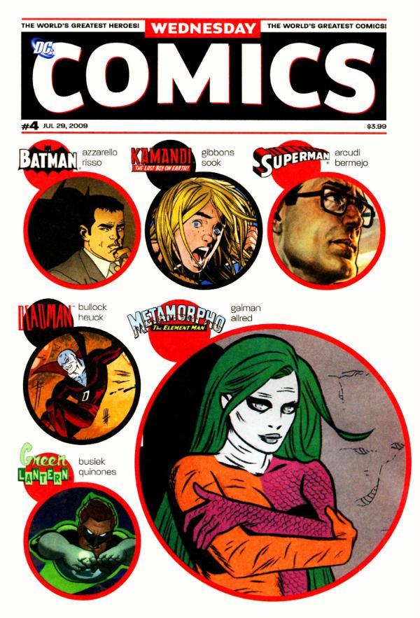 Wednesday Comics #4