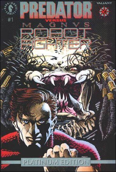 Predator versus Magnus Robot Fighter #1