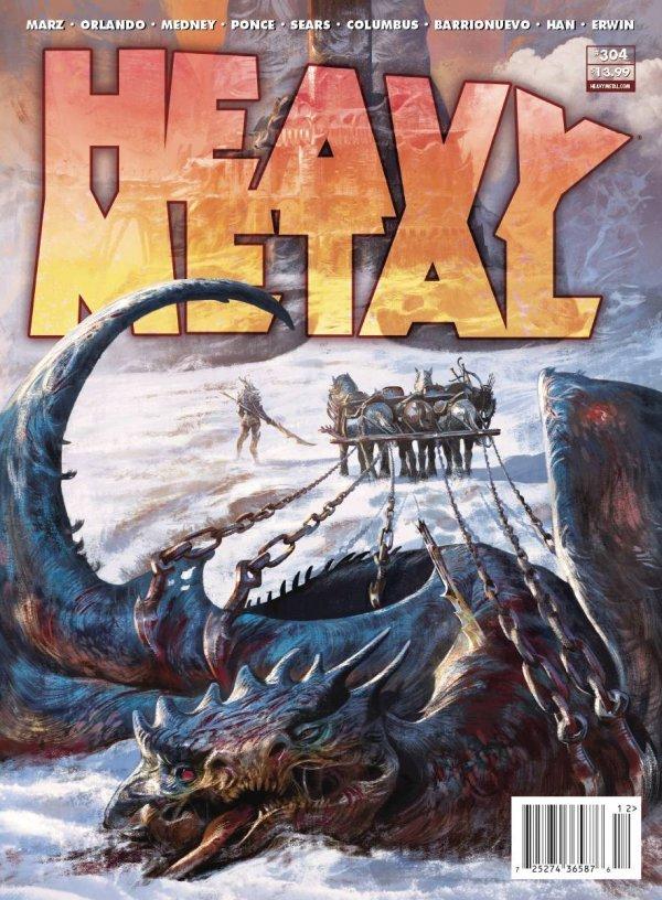 Heavy Metal #304