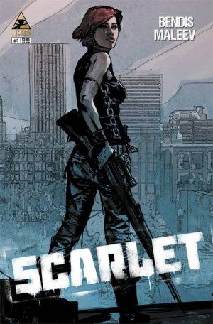 Scarlet #1 2nd Printing Variant