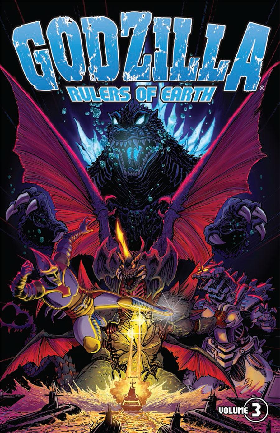 Godzilla: Rulers of Earth Vol. 3 TP